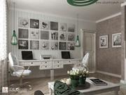 дизайн интерьеров,  дизайн-проекты визуализация