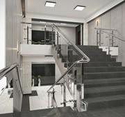 Дизайн лестничных клеток общественных зданий
