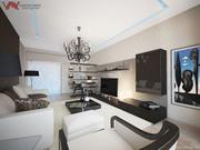 Дизайн квартиры,  коттеджа. Ремонт под ключ. Авторский надзор.