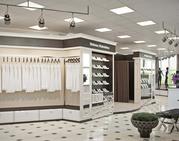 Дизайн интерьера торговых помещений,  бутиков,  магазинов