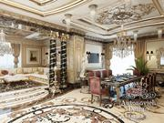 Дизайн дома Алматы в классическом стиле