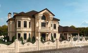 Дизайн фасада дома Алматы