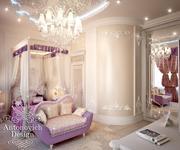 Дизайн интерьера детской комнаты 1